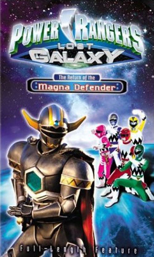 Visuel américain de 'Power Rangers Lost Galaxy: Return of the Magna Defender'