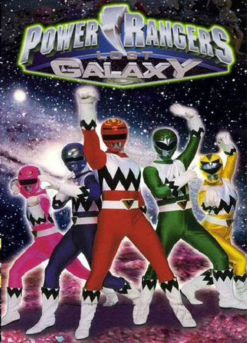 Unknown artwork from the series Power Rangers Lost Galaxy