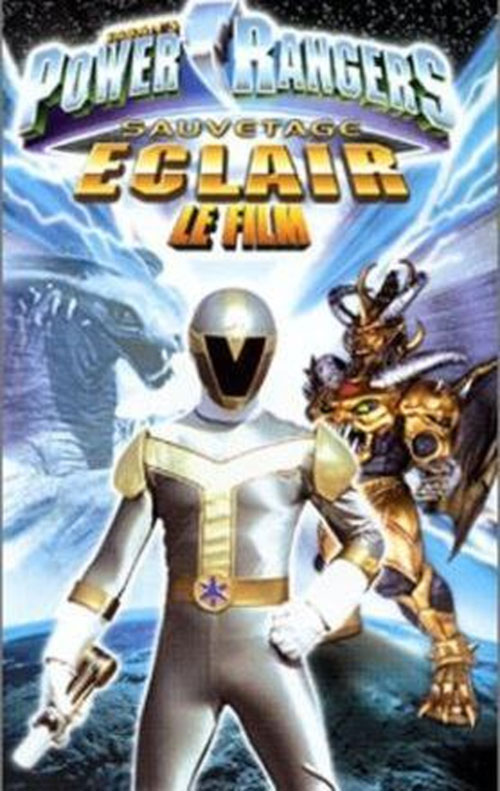 French artwork from the movie Power Rangers Lightspeed Rescue