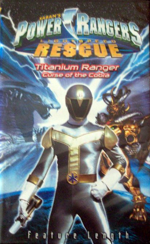 Unknown artwork from the movie Power Rangers Lightspeed Rescue - Titanium Ranger: Curse of the Cobra