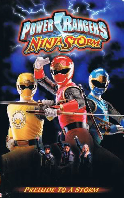 Unknown artwork from the series Power Rangers Ninja Storm