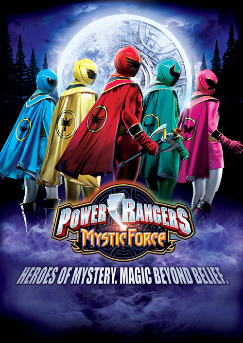 Unknown artwork from the series Power Rangers Mystic Force