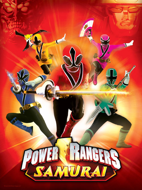 Unknown artwork from the series Power Rangers Samurai