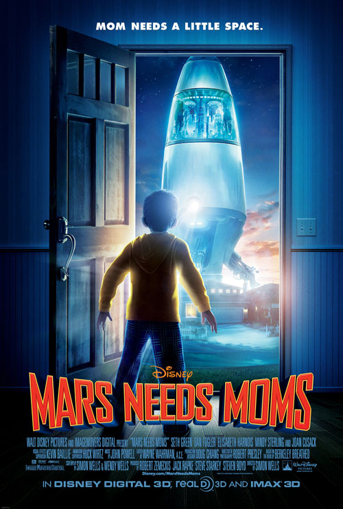 Us poster from the movie Mars Needs Moms