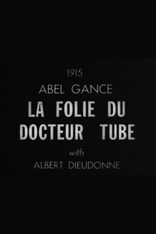 French artwork from the movie La folie du Docteur Tube