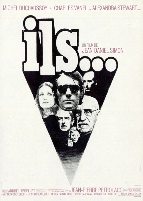 French poster from the movie Them (Ils)