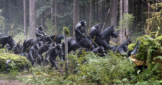 Photo de 'La Planète des Singes : l'affrontement' - ©2014 20th Century Fox Film Corporation - La Planète des Singes : l'affrontement (Dawn of the Planet of the Apes) - cliquez sur la photo pour la fermer