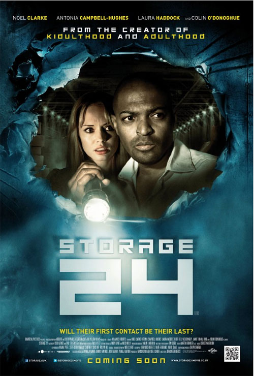 British poster from the movie Storage 24