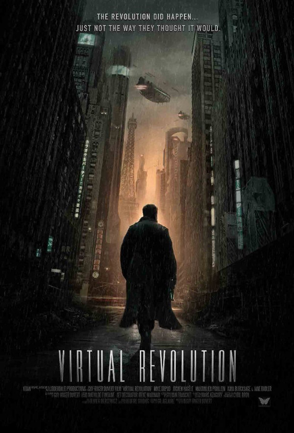 Affiche internationale du film Virtual Revolution
