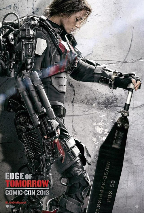 Affiche américaine de 'Edge of Tomorrow'