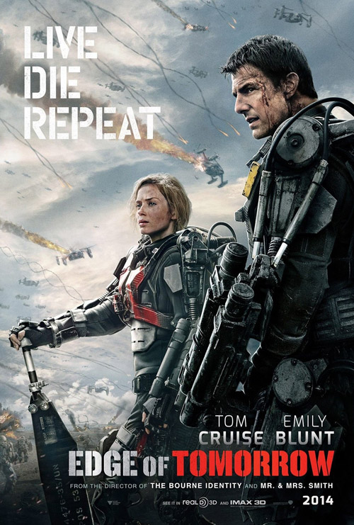 Us poster from the movie Edge of Tomorrow