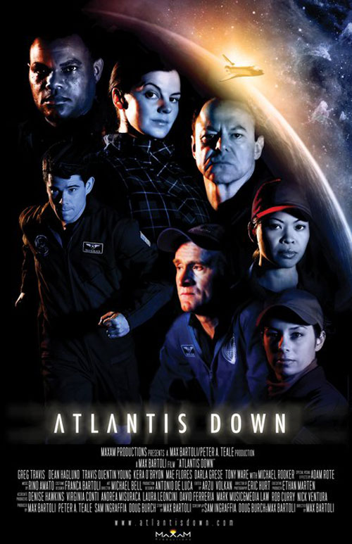 Affiche américaine du film Atlantis Down