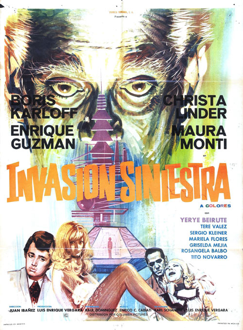 Affiche inconnue du film The Incredible Invasion