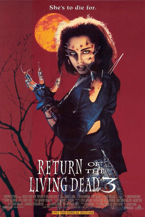 Us poster from the movie Return of the Living Dead III