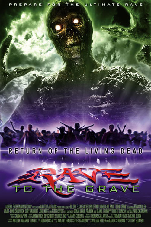 Us poster from the movie Return of the Living Dead: Rave to the Grave