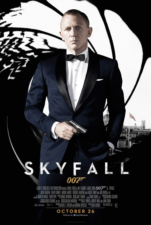 British poster from the movie Skyfall