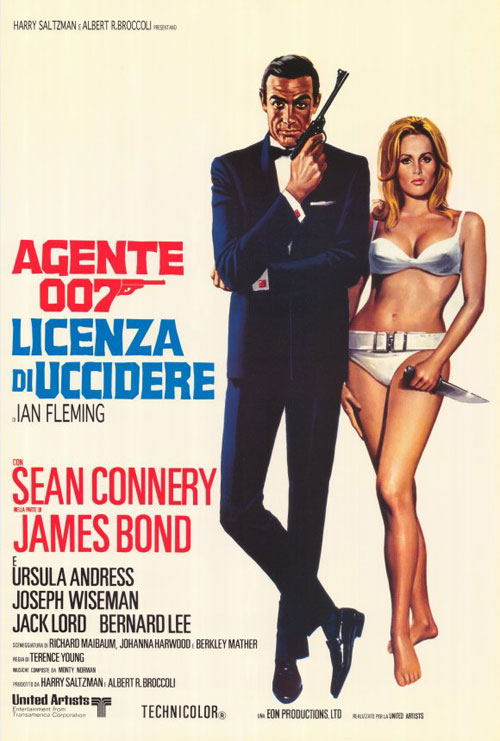 Dr. No (1962) movie poster #12 - SciFi-Movies