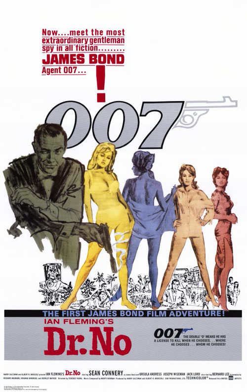 Us poster from the movie Dr. No