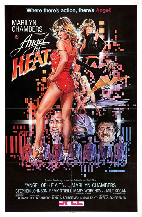 Us poster from the movie Angel of H.E.A.T.