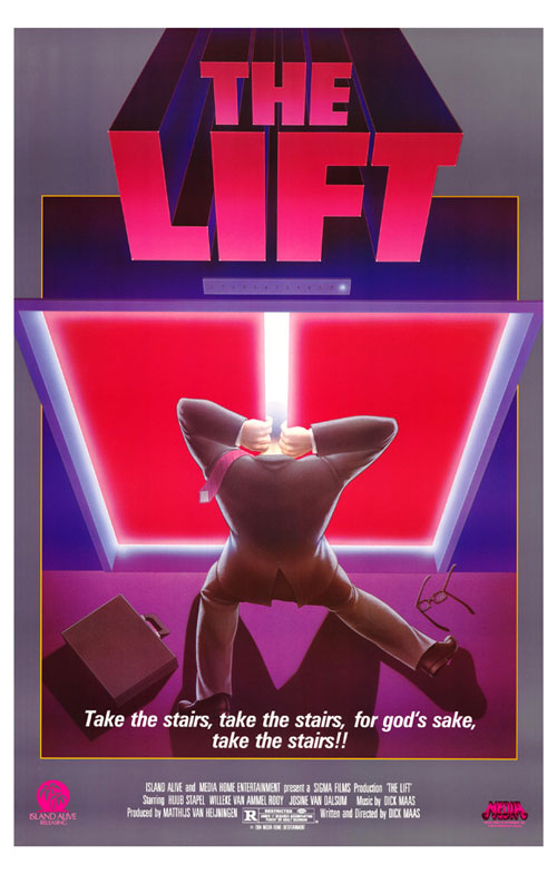 Us poster from the movie The Lift (De lift)