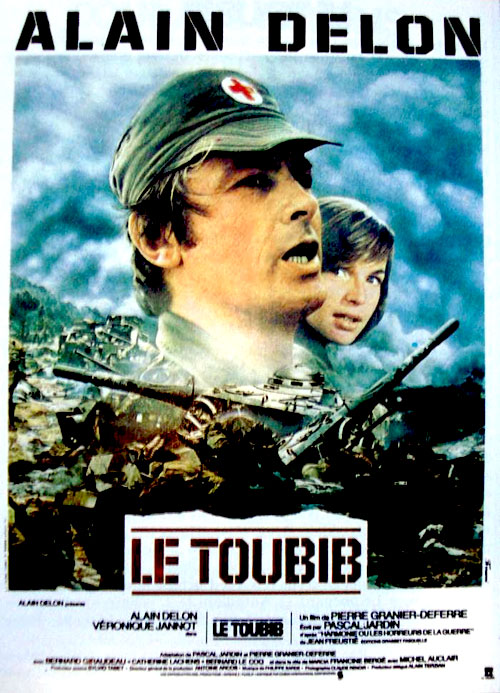 French poster from the movie The Medic (Le toubib)