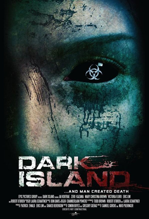 Unknown poster from the TV movie Dark Island
