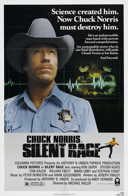 Us poster from the movie Silent Rage