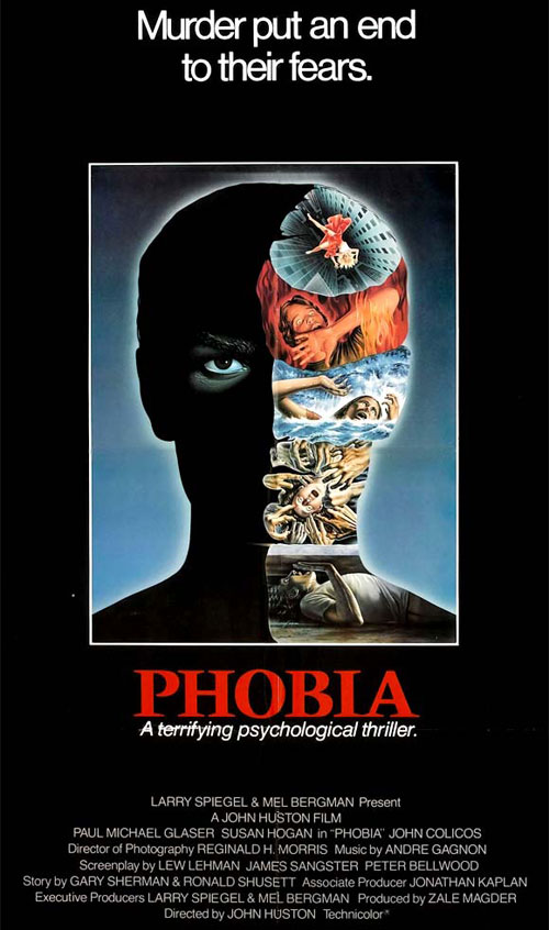 Us poster from the movie Phobia