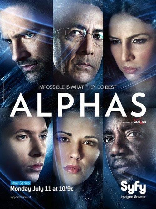 Us poster from the series Alphas