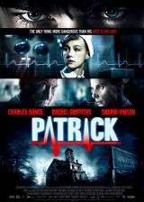 Movie poster from Patrick, in theaters on March 14, 2014