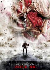 Movie poster from Attack on Titan, in theaters on September 30, 2015