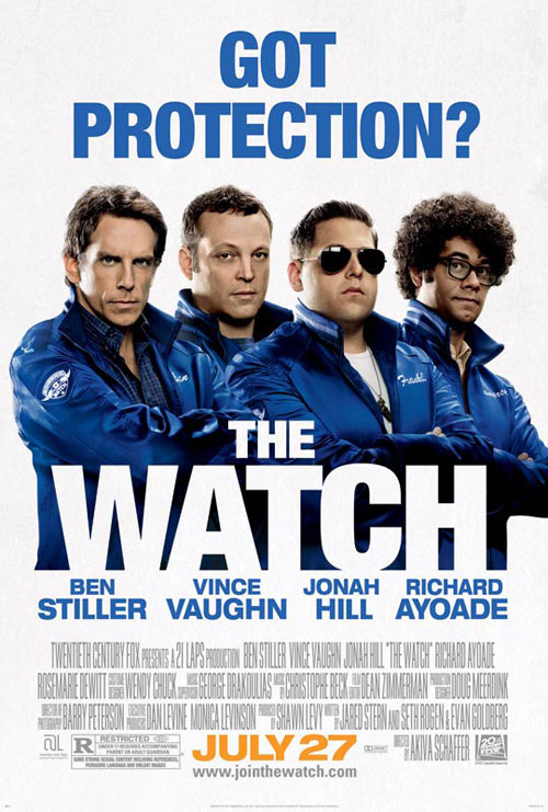 Us poster from the movie The Watch