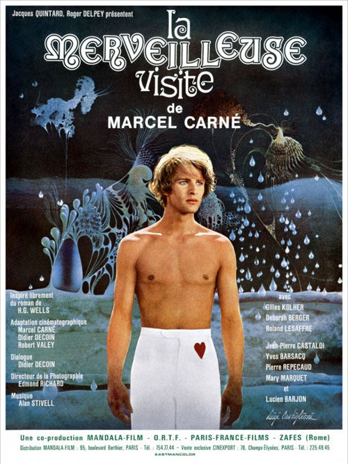 French poster from the movie La merveilleuse visite