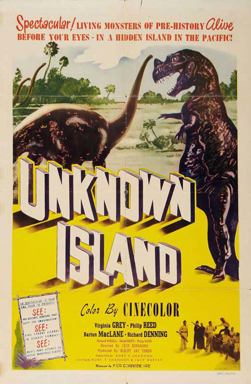 Us poster from the movie Unknown Island