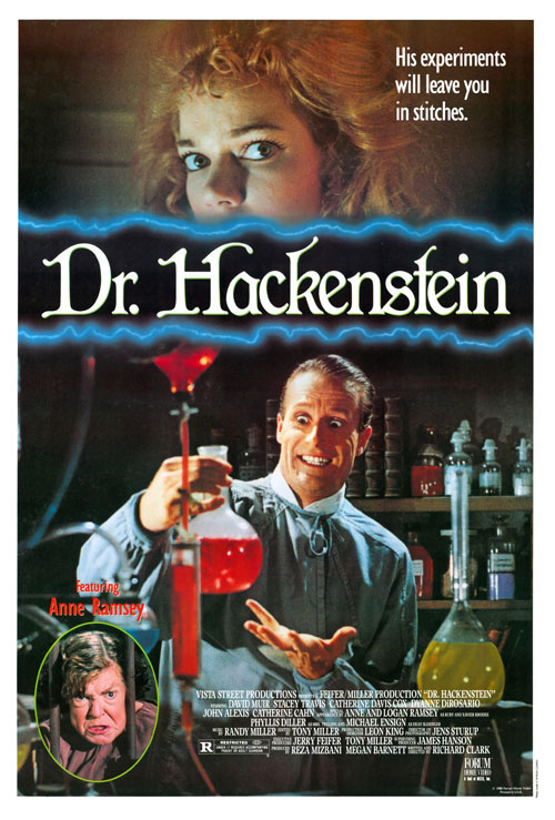 Us poster from the movie Doctor Hackenstein
