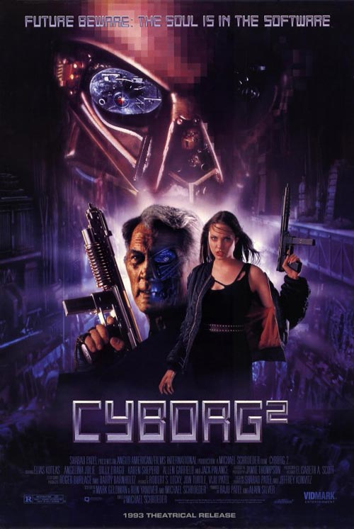 Us poster from the movie Cyborg 2