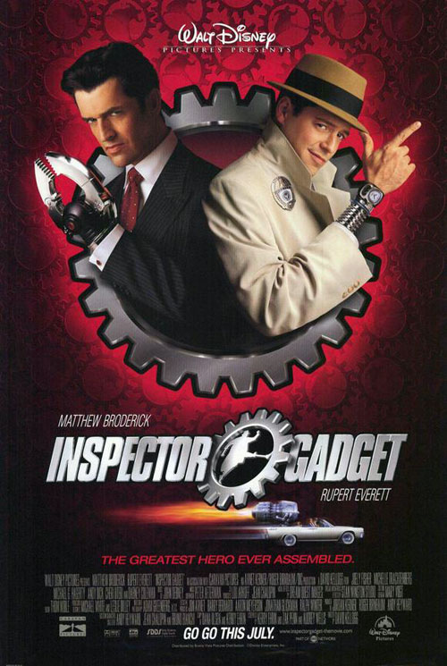 Us poster from the movie Inspector Gadget