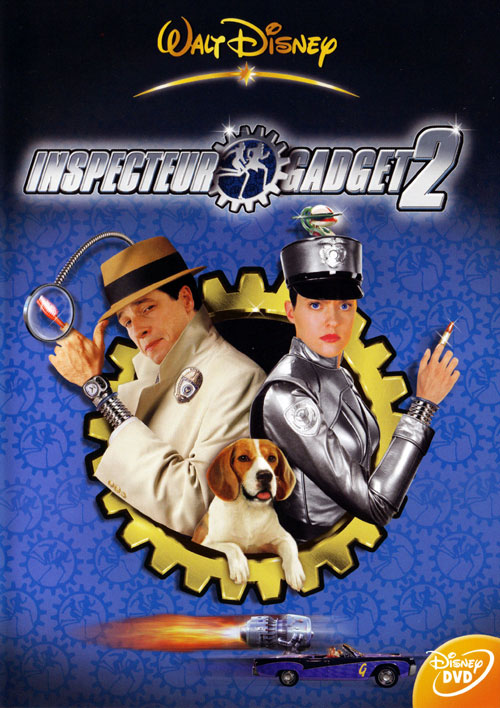French artwork from the movie Inspector Gadget 2