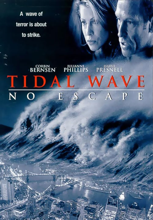 Us artwork from the TV movie Tidal Wave: No Escape