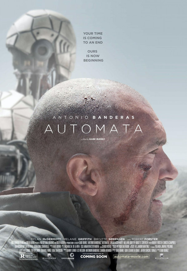 Unknown poster from the movie Automata (Autómata)
