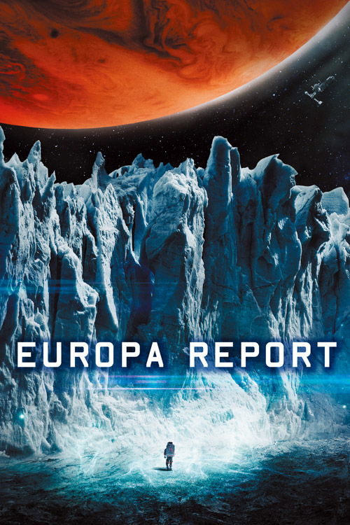 French poster from the movie Europa Report