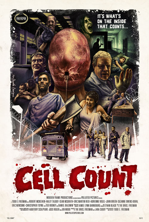 Us poster from the movie Cell Count