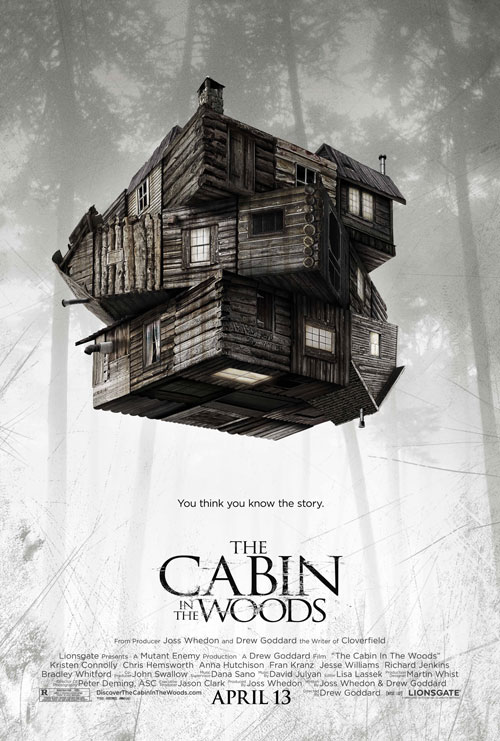 Us poster from the movie The Cabin in the Woods