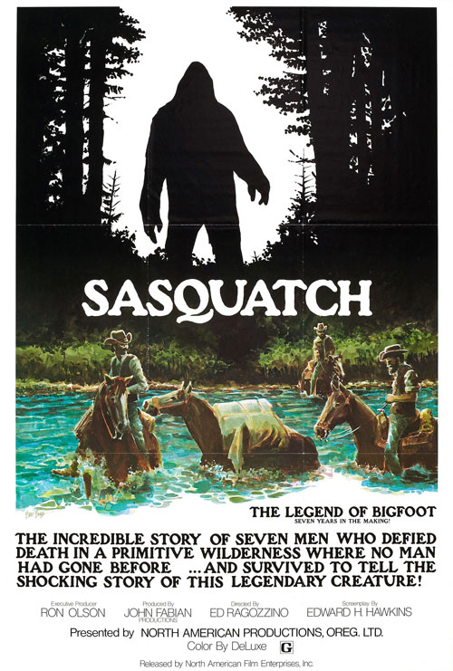 Us poster from the movie Sasquatch, the Legend of Bigfoot