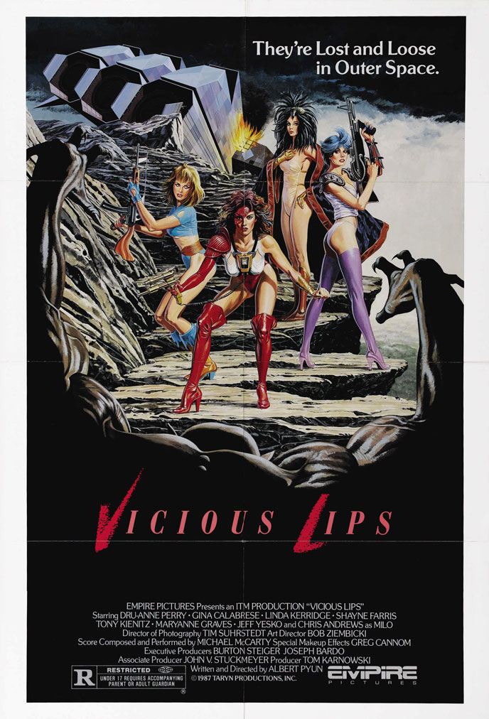 Us poster from the movie Vicious Lips