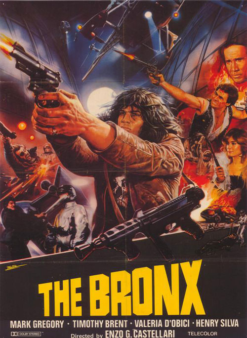 Us poster from the movie Escape from the Bronx (Fuga dal Bronx)