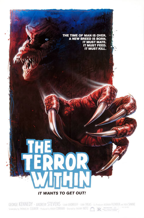 Us poster from the movie The Terror Within