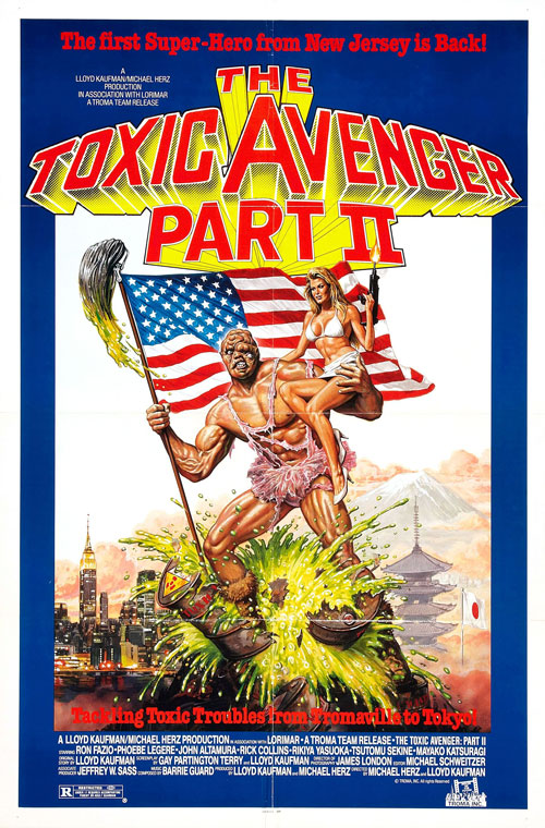 Us poster from the movie The Toxic Avenger Part II
