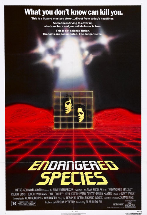 Us poster from the movie Endangered Species
