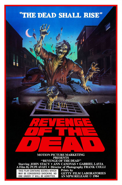Us poster from the movie Revenge of the Dead (Zeder)